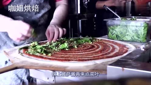 跟桌子一样大的披萨你吃过吗?太壮观了!感觉一星期都吃不完