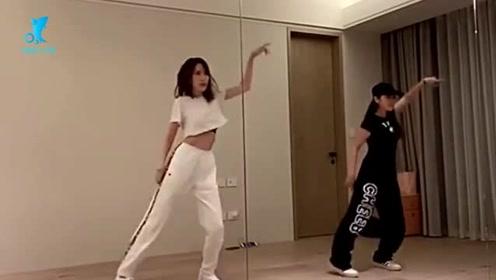 林志颖娇妻大跳热舞!穿露脐装秀大长腿,简直太美了!
