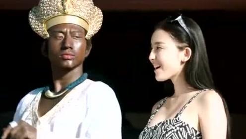 古力娜扎与邓超对话时,不料邓超突然说出日语,太逗了