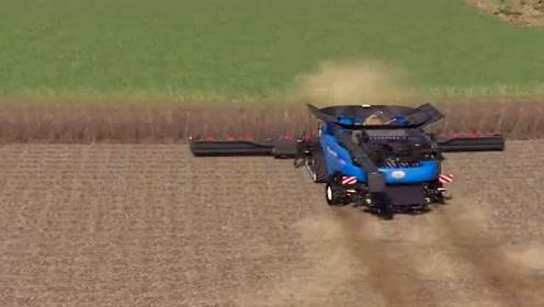 模拟驾驶:驾驶收割机收玉米,场景太真实了,农机也不好开!