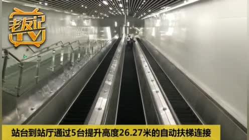 南宁地铁3号线青秀山站照片曝光!