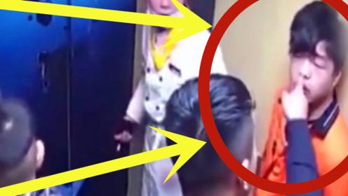 少年涉世太浅,电梯内抽烟,孩子爸爸劝阻未果,下秒实在解气!