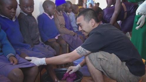 没鞋好可怕!台湾二百万双旧鞋抵抗非洲沙蚤