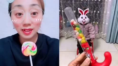 小白兔,你们是不是想吃糖果呢