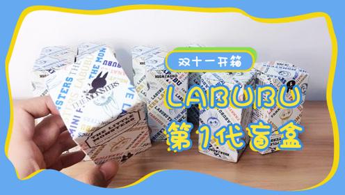 双十一开箱,labubu绝版复刻盲盒,还有王炸福袋即将到来!