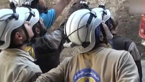 """叙总统:""""白头盔""""创始人因掌握太多秘密被灭口"""