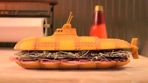 """意大利""""飞船""""三明治,光这颜值就让人流口水了,制作过程却这样"""