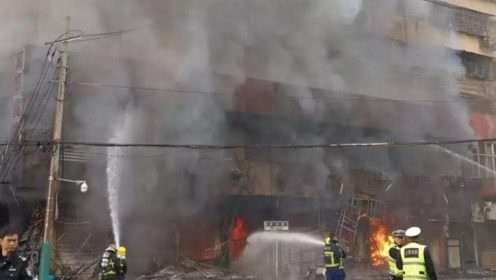 现场画面曝光!安徽蚌埠一门面房爆炸 已致5死3伤