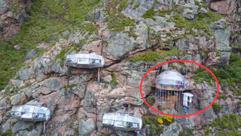 开在悬崖上最刺激的酒店,住一晚要2000元,很多男女都不敢住!