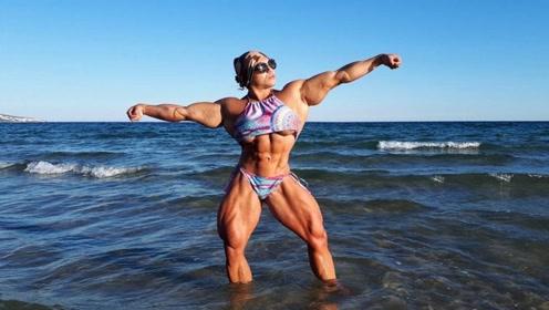 """她是最""""强壮""""的女人,满身上下是肌肉,35岁仍没交男朋友!"""