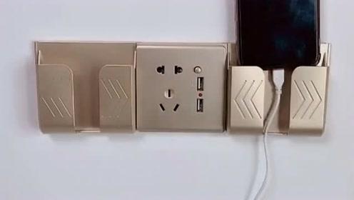 这个插排直接代替原有插座,提供手机支架,为你的精致生活点燃热情