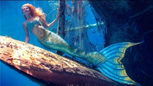 """水族馆养了条""""美人鱼"""",吸引无数游客前来参观,画面美得挪不开眼!"""