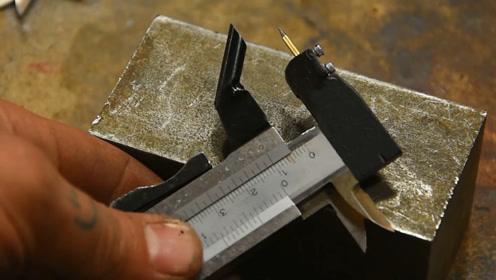 游标卡尺量爪上焊一根针,这个功能,是你平时最喜欢用的