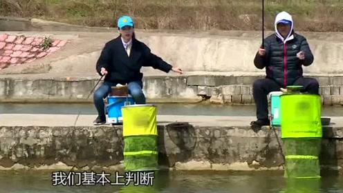 静态钓浮技巧:将浮漂向上挂饵找底,完成后将浮漂向下推钓定层