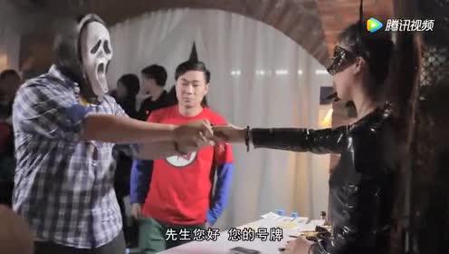 这个舞会没有面具你怎么可能进得去啊!