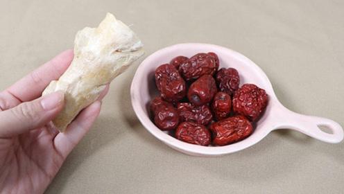 生姜加红枣用开水泡一泡,原来作用这么厉害,解决了好多人的困扰