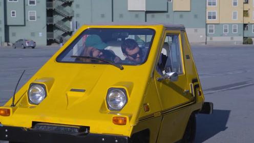 外国小哥将汽车改造成巨型鼠标,这么大的鼠标只有巨人能用吧!