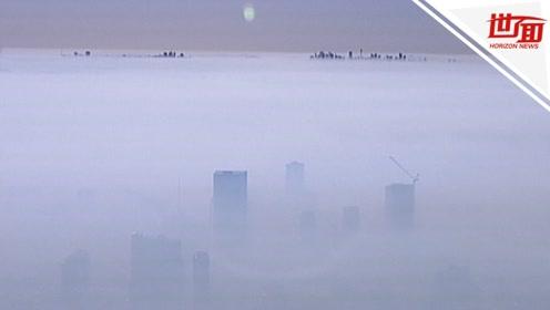 令人窒息!澳洲山火绵延不绝 悉尼人一睁眼全城被烟雾笼罩