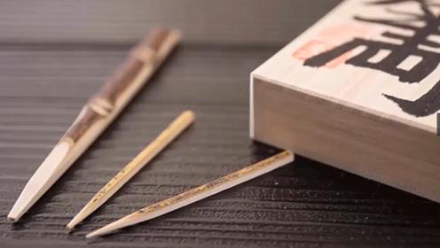 日本人如何制作牙签?一天只能做十几根,精益求精的精神值得学习