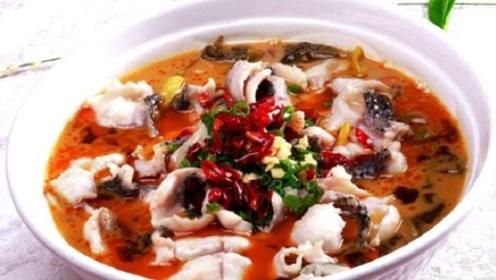 做酸菜鱼时,顺序一定不能错,不然鱼肉不鲜不滑嫩,汤还不酸不辣