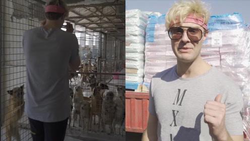 美国小伙翻唱中文歌走红国内,移居中国后为流浪狗捐10万元狗粮