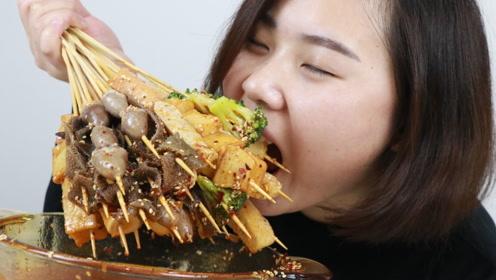 小白花66买火锅食材做冷串,没想到吃起来比火锅还过瘾,太赞了
