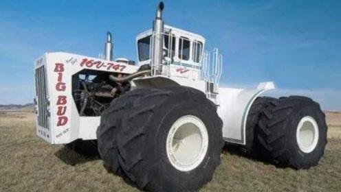 """世界上最贵的拖拉机,是拖拉机中的""""波音747"""",1小时耕90亩地!"""
