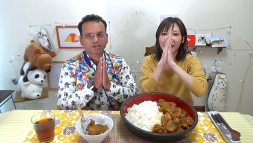 【木下大胃王】地道印度料理10人份!初次尝试用手吃!
