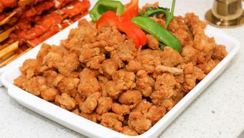 炸酥肉时,直接下油锅是错误的,在面糊中掺点它,香脆可口肉还嫩