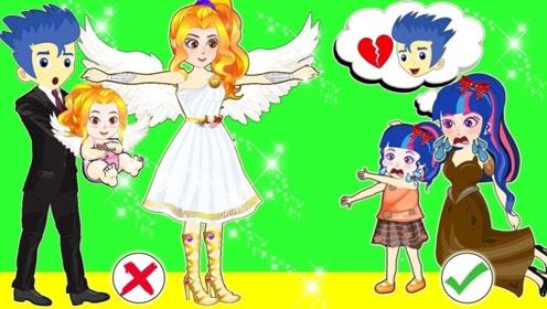 母女俩收留小天使,善良得到回报,坐拥豪宅逆袭成有钱人!