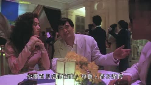 经典:女老大不愿和发哥做生意,但发哥凭借好口才,说服了女老大
