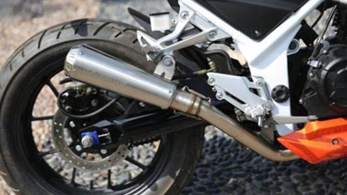 自主又一款大排量摩托!350CC+5速,3秒破百,LED灯眉+液晶仪表