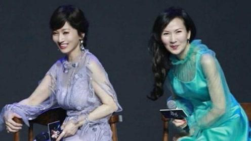 65岁赵雅芝遇上61岁陈美琪,网友:没有玻尿酸的脸看着就自然!