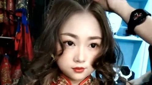 中式新娘发型这样盘,超级高贵又大气,准新娘看过来