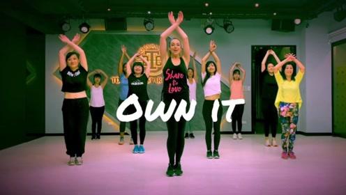 下班再累也要动一下,每天一支尊巴舞,释放压力,健身减脂!