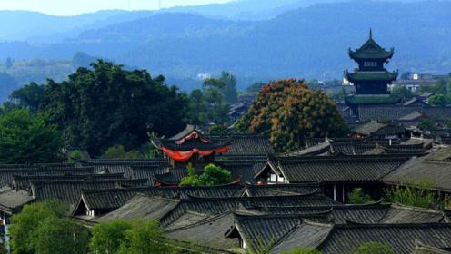 四川第一古城,已有两千多年历史,如今整个城都被列为5A景区