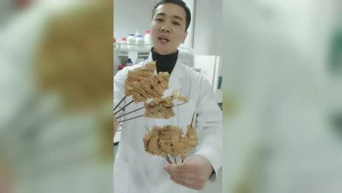 鸡汁豆腐的热量不小,大家注意少吃点哦!