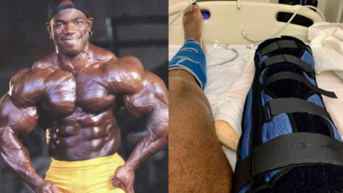 一代传奇惠勒彻底永别健美!曾因肾衰竭退役,如今右腿又被迫截肢!