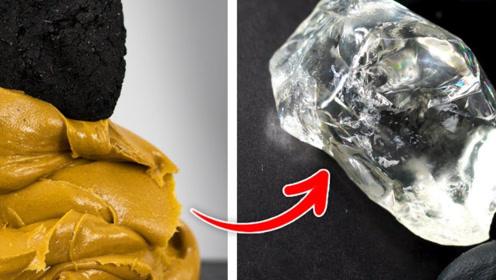 煤炭蘸花生酱可以变成钻石?老外亲自试验,结果你猜怎么着!
