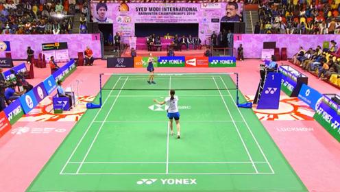 马琳 vs 金佳恩 2019印度赛德·莫迪国际赛 女单半决赛精彩集锦