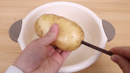 活了30年才发现,土豆插根筷子,解决女人的一大尴尬事,厉害