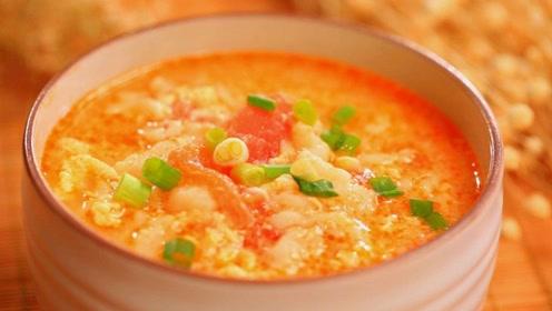 疙瘩汤好吃又暖胃,做法简单吃起来暖心,一碗都不够吃