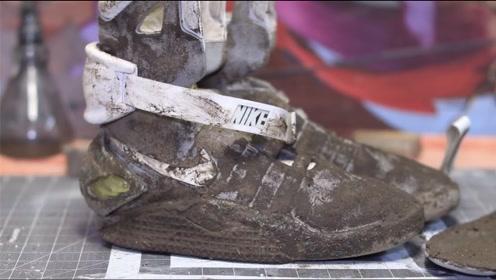 小伙意外捡到一双万元美金跑鞋,清洗一遍后,发现意外收获!