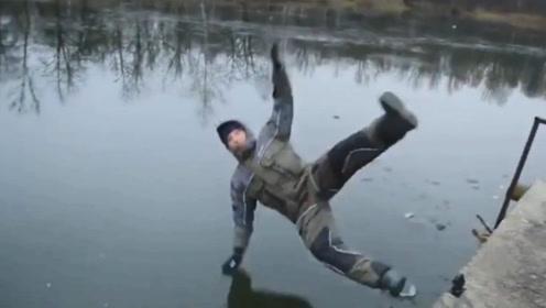 """国外牛人发明""""漂浮衣"""",可以在水上行走吗?结果意想不到!"""