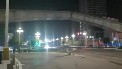 重庆轨道交通5号线在建桥体发生百米垂直错位  没有人员伤亡
