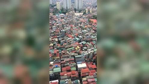 越南首都河内,1000万人全挤在这里!