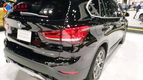 颜值上提升不少,2020 宝马 X1实拍,竞争奔驰GLA