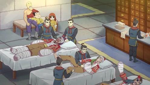 大师兄一人扛两壮汉,救下午门屠刀三人回铁堡