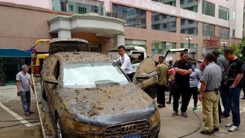 5万买辆40万泡水新车值不值?维修工:别让修车比买车花的更多
