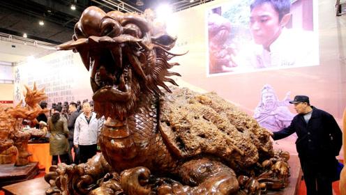 价值580万的龙型根雕,花4年才雕琢完成,如今惨遭没人买!